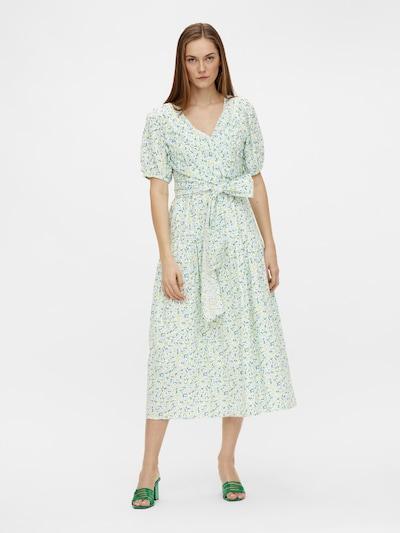 Y.A.S Kleid 'Filo' in creme / hellblau / hellbraun / petrol / weiß, Modelansicht