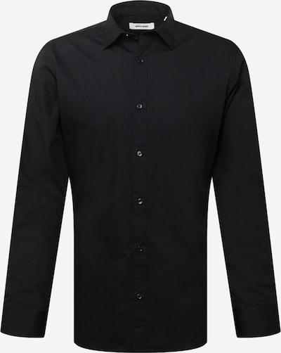 JACK & JONES Overhemd 'JOE' in de kleur Zwart, Productweergave
