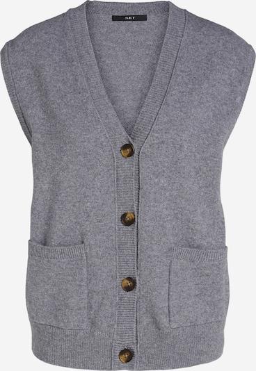 SET Knitted Vest in mottled grey, Item view