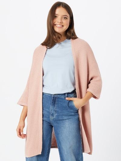 Hailys Strickjacke 'Alis' in rosé, Modelansicht