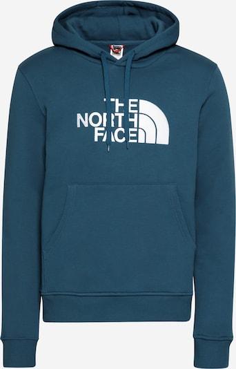 THE NORTH FACE Sweatshirt 'Drew Peak' in de kleur Violetblauw / Wit, Productweergave