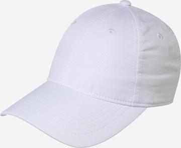 Lacoste Sport Spordinokamüts 'Taffetas Diamante', värv valge