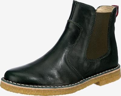 Grünbein Boots in dunkelgrün, Produktansicht