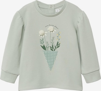 Bluză de molton 'Patti' MANGO KIDS pe verde neon, Vizualizare produs