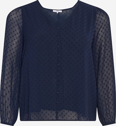 ABOUT YOU Curvy Blouse 'Marlene' in de kleur Donkerblauw, Productweergave