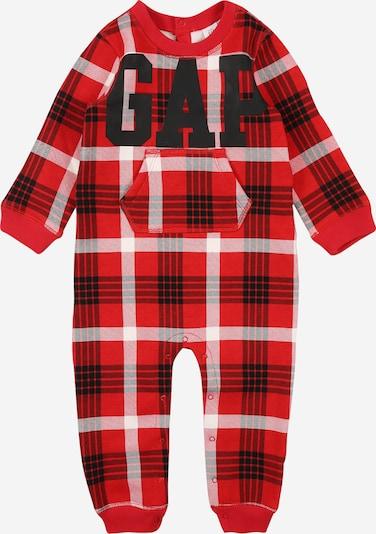 GAP Kombinezon | rdeča / črna / bela barva, Prikaz izdelka