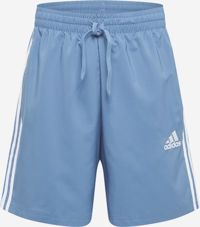 ADIDAS PERFORMANCE Sportovní kalhoty 'CHELSEA' - kouřově modrá / bílá, Produkt