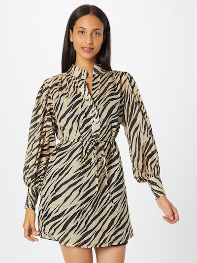 Banana Republic Košeľové šaty - béžová / čierna, Model/-ka