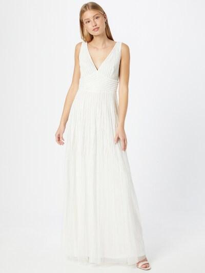 LACE & BEADS Kleid 'Lorelai' in offwhite, Modelansicht