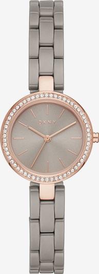 DKNY Uhr in gold / silbergrau, Produktansicht