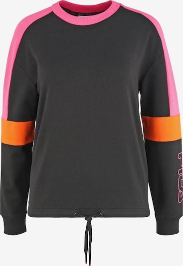 FILA Sweatshirt 'WOMEN PAULINA' in orange / pink / schwarz, Produktansicht