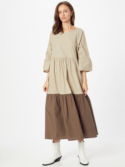 FRENCH CONNECTION Dress in Brown / Cappuccino, View model