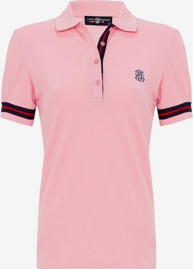 Jimmy Sanders Shirt in pink / schwarz, Produktansicht