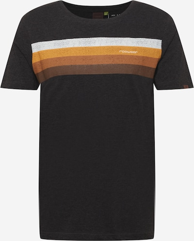 Tricou Ragwear pe gri închis / portocaliu / alb, Vizualizare produs