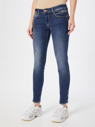 Le Temps Des Cerises Jeans 'JFANDRIAW1166' in blue denim, Modelansicht