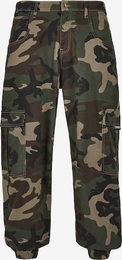 SOUTHPOLE Pantalon cargo en beige / marron / kaki / noir, Vue avec produit