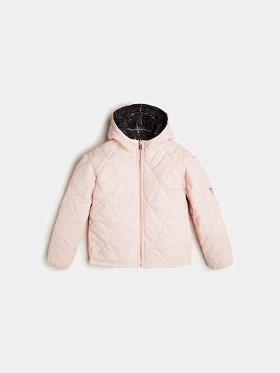GUESS KIDS Steppjacke in rosa, Produktansicht