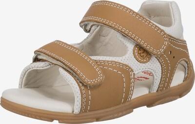 ELEFANTEN Sandale in braun / weiß, Produktansicht