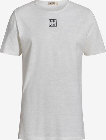 MÁ Hemp Wear Shirt 'Limo' in Weiß
