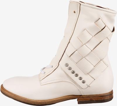 A.S.98 Schnürstiefeletten in weiß, Produktansicht