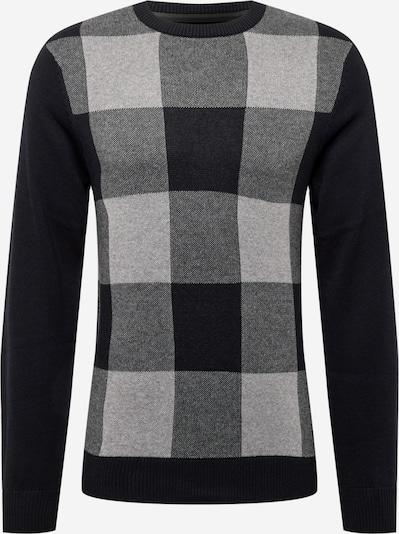 BLEND Pullover i grå / lysegrå / sort, Produktvisning