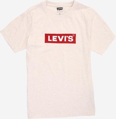 Tricou LEVI'S pe crem / roșu / alb, Vizualizare produs