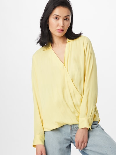 Banana Republic Bluse in limone, Modelansicht
