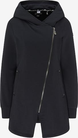 DreiMaster Vintage Zip-Up Hoodie in Black