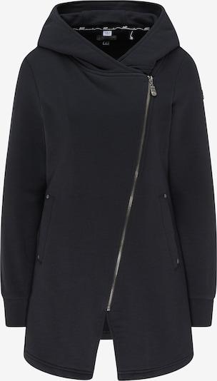 DreiMaster Vintage Sweatjacke in schwarz, Produktansicht