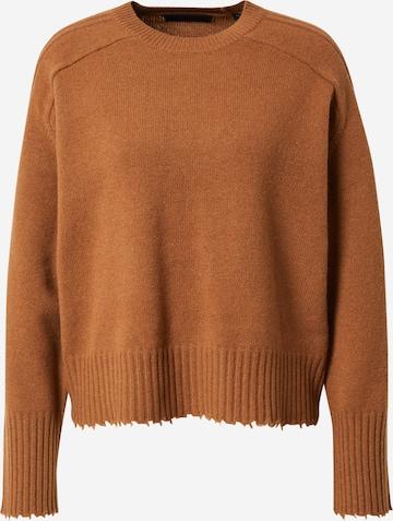 AllSaints Kampsun 'Kiera', värv pruun