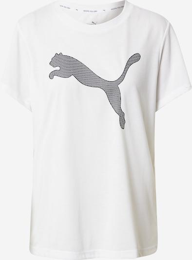 PUMA Functioneel shirt 'Evostripe' in de kleur Zwart / Wit, Productweergave