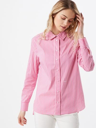 JOOP! Bluse 'Benita' in pink / weiß, Modelansicht
