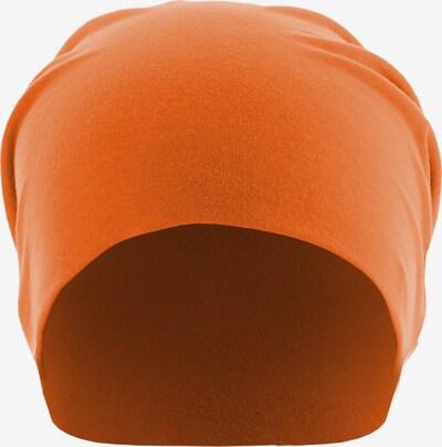 MSTRDS Mütze in neonorange, Produktansicht
