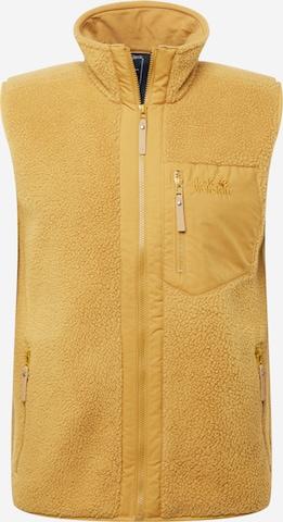 JACK WOLFSKIN Vest 'KINGSWAY' in Brown