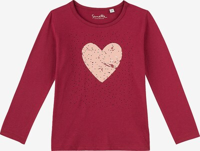 Sanetta Kidswear Shirt in pink / bordeaux, Produktansicht