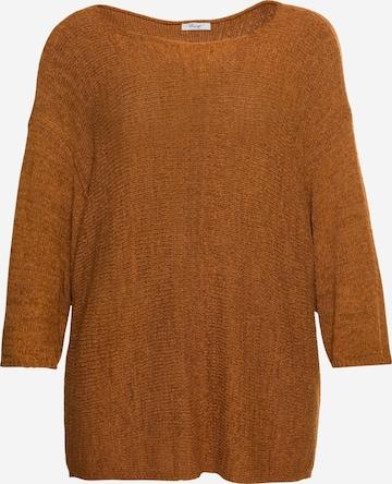 Pull-over SHEEGO en marron