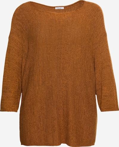 SHEEGO Pullover in karamell, Produktansicht