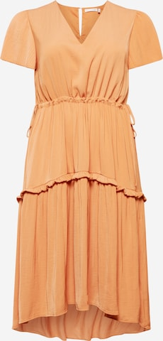 Guido Maria Kretschmer Curvy Collection Dress 'Liana' in Orange