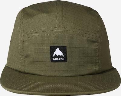 BURTON Sportcap in grün / schwarz / weiß, Produktansicht