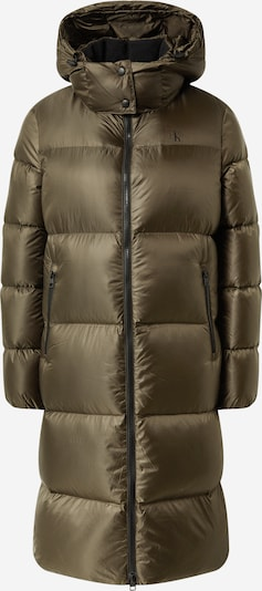 Palton de iarnă Calvin Klein Jeans pe oliv, Vizualizare produs