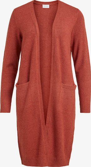 VILA Knitted Coat 'Ril' in Pastel red, Item view