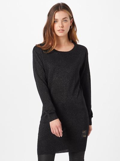 ARMANI EXCHANGE Kleid in schwarz, Modelansicht