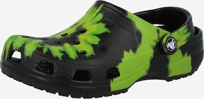 Crocs Clogs in grün / schwarz, Produktansicht