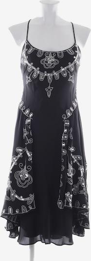 Temperly London Seidenkleid in XS in schwarz / silber, Produktansicht