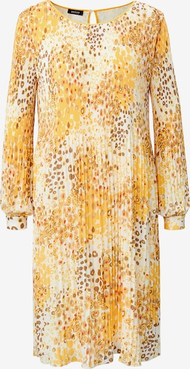Basler Kleid in braun / gold / weiß, Produktansicht