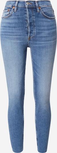Jeans RE/DONE di colore blu denim, Visualizzazione prodotti