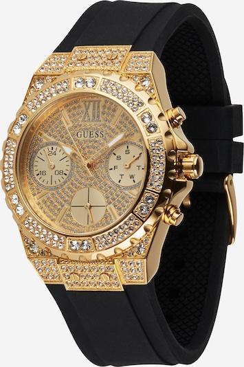 GUESS Reloj analógico en oro / negro, Vista del producto