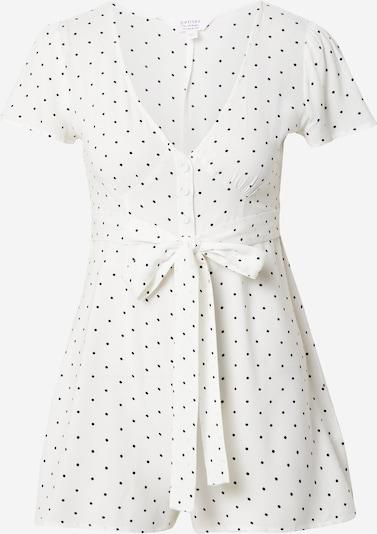 Miss Selfridge (Petite) Combinaison 'MONO' en noir / blanc, Vue avec produit
