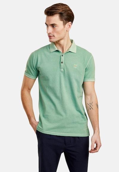 NEW IN TOWN Poloshirt in grün: Frontalansicht
