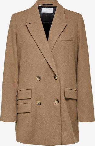 SELECTED FEMME Blazer 'Regina' i brun